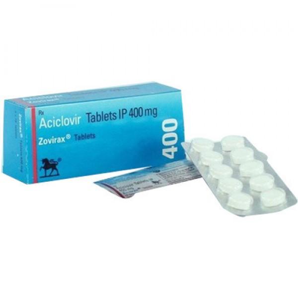 Zovirax 400mg tablets (Name Brand)